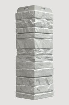 Угол фасадный Docke Stein, цвет Молочный