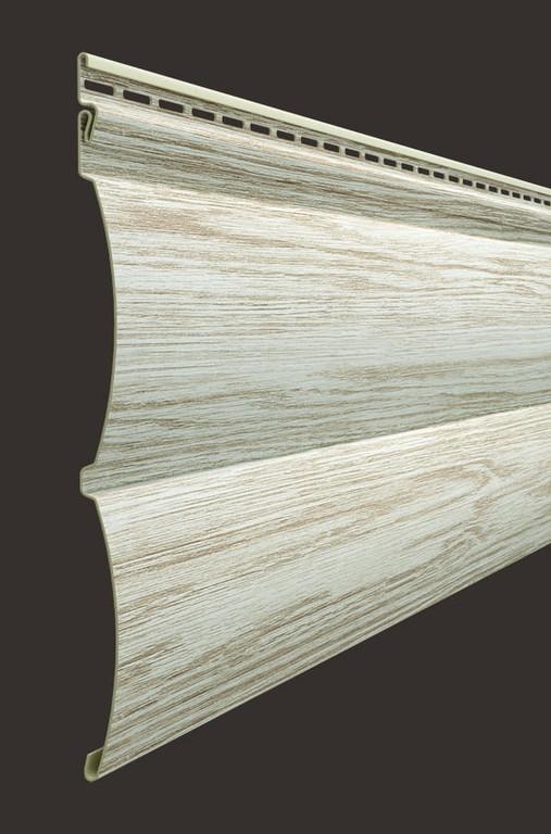 Vinilovyj sajding Docke seriya Lux Blok haus D4.7T 3600243 mm tsvet Oreh