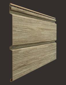 Виниловый сайдинг Docke серия Lux, Брус D6S, 3600300 мм цвет Кедр