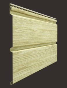 Виниловый сайдинг Docke серия Lux, Брус D6S, 3600*300 мм цвет Яблоня