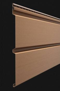 Виниловый сайдинг Docke серия Premium, Брус D6S, 3600*300 мм цвет Капучино