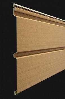 Виниловый сайдинг Docke серия Premium, Брус D6S, 3600*300 мм цвет Карамель