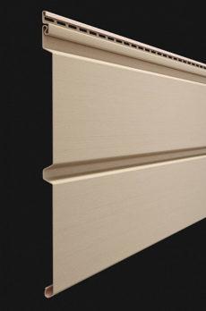 Виниловый сайдинг Docke серия Premium, Брус D6S 3600*300 мм цвет Крем-брюле