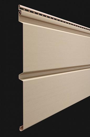 Vinilovyj sajding Docke seriya Premium Brus D6S 3600300 mm tsvet Krem bryule