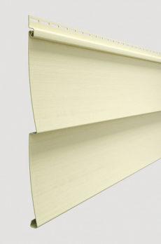 Виниловый сайдинг Docke серия Standart, Ёлочка D5С 3000*255 мм, цвет Банан