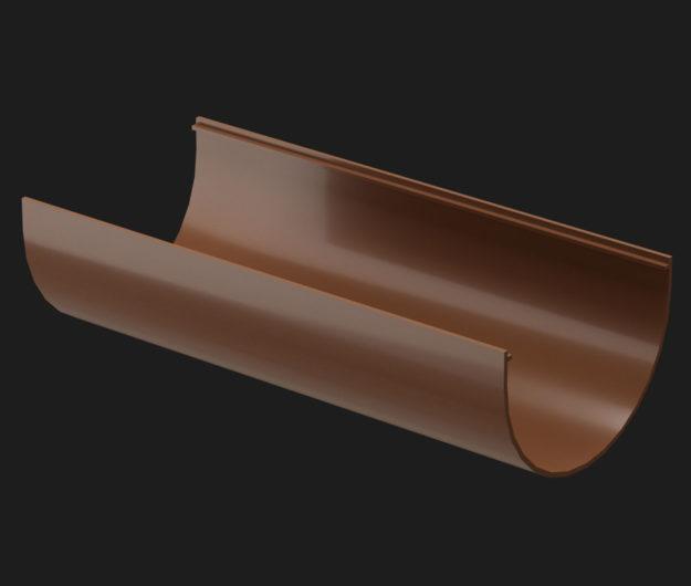 ZHelob vodostochnyj Docke Premium 3 m tsvet SHokoladKashtanGrafitGranat 1